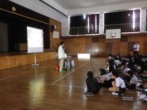 阪南市立東鳥取小学校に出講しました・ほか(5月17日)